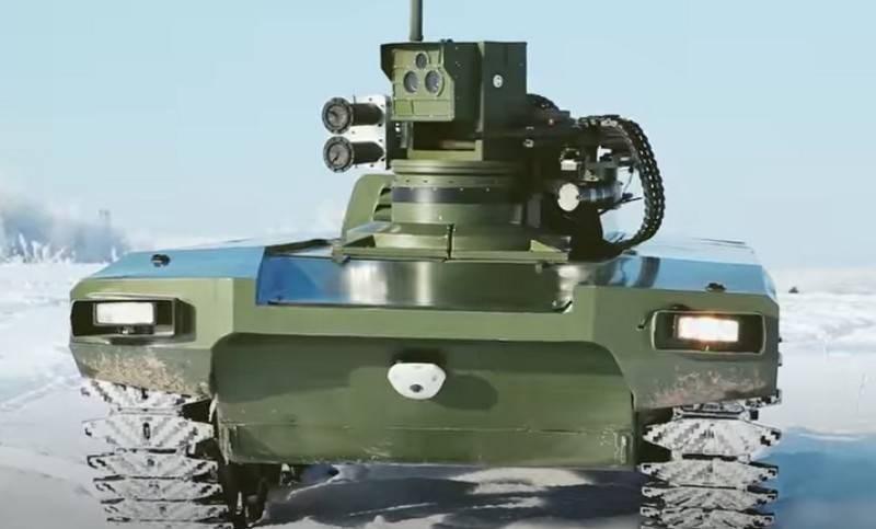 شرعت موسكو في ابتكار بعض الروبوتات الجديدة، ومنها الروبوت القتالي