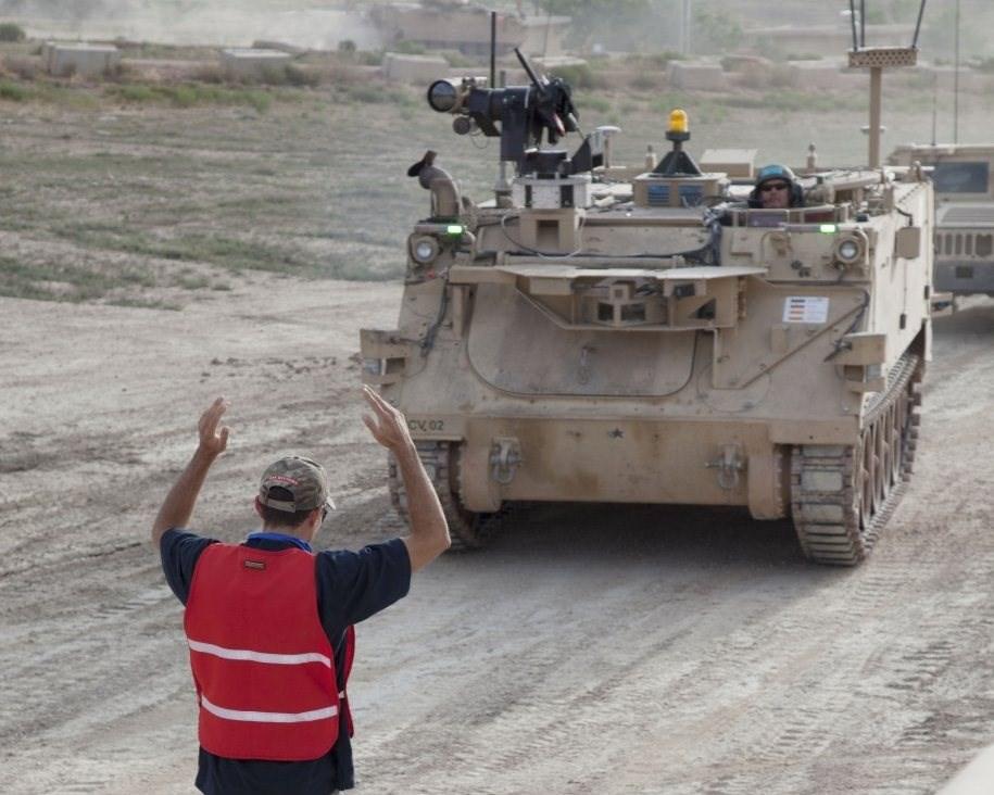 أنهى الجيش الأميركيّ مؤخراً أول تجربة تشغيلية لعدة ناقلات جند مدرعة من نوع