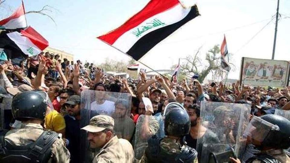 تظاهرات في بغداد وعددٍ من محافظات الجنوب