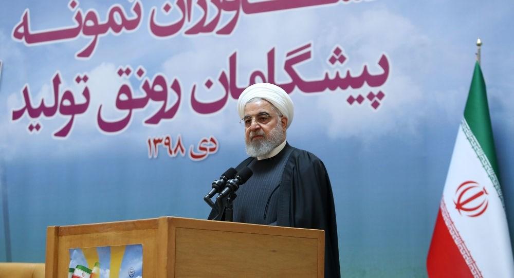 روحاني: لدينا القوة للانتصار في وجه الولايات المتحدة