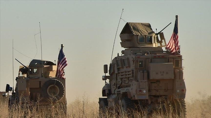 غارات أميركية تستهدف أراض زراعية في قرية خربة عمو بريف القامشلي