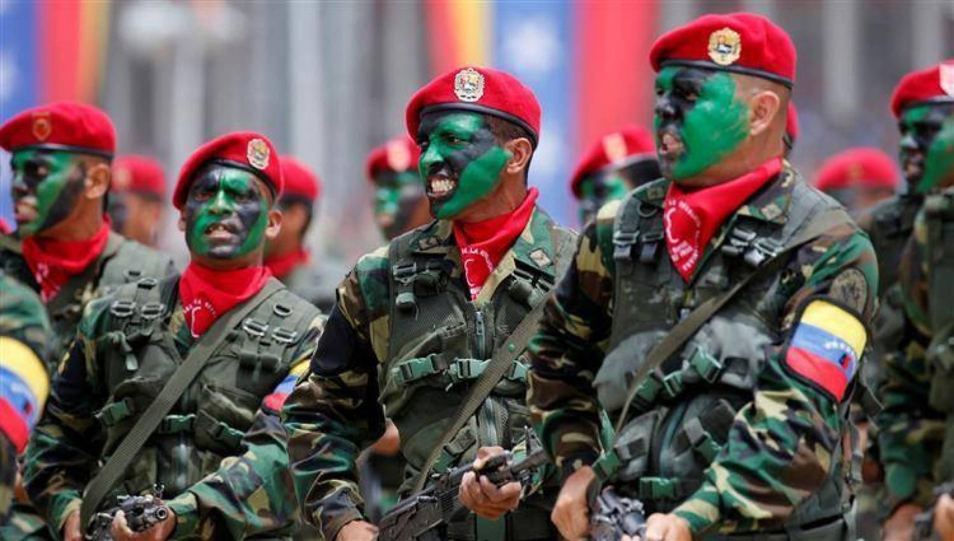 فنزويلا تستعد لبدء تدريبات عسكرية عند الحدود مع كولومبيا