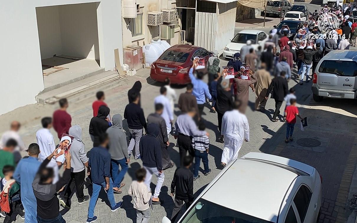 مسيرات في البحرين في الذكرى التاسعة لانطلاق الحراك