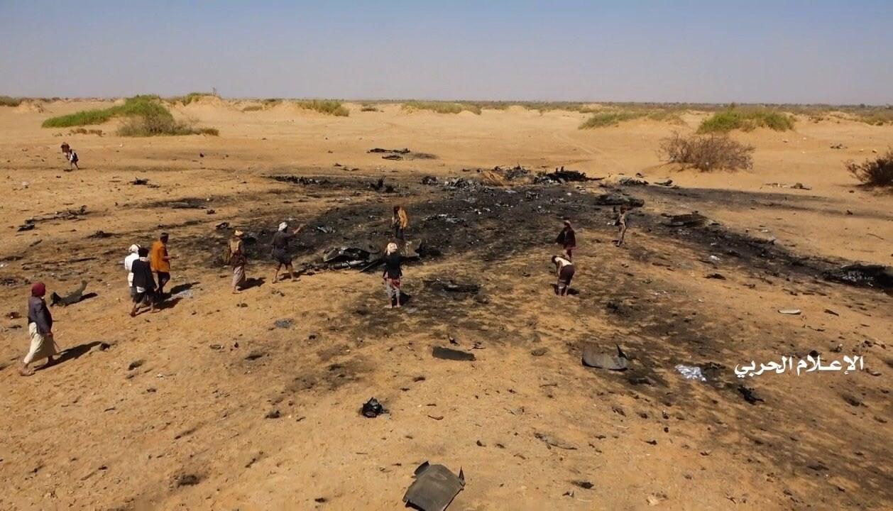 عشرات الشهداء في مجزرة للتحالف السعودي بعد إسقاط القوات اليمنية طائرة تابعة له