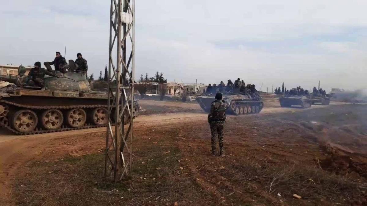 الجيش السوري سيفتح غداً معابر انسانية في ميزنار ومجيرز لعودة المدنيين