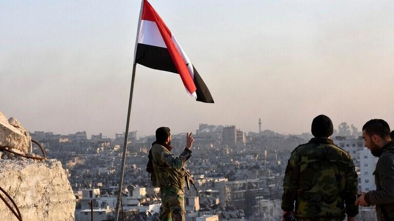 احتفالات في حلب بعد تأمينها بالكامل والجيش السوري يسيطر  على مدينتي حريتان وعندان