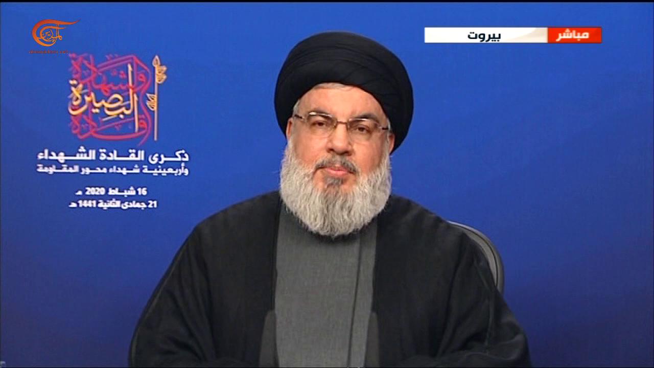 السيد نصر الله: ليس أمام شعوب المنطقة إلا المواجهة الشاملة مع المشروع الأميركي