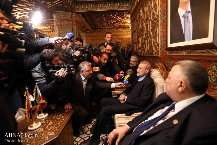 رئيس مجلس الشورى الإيراني في بيروت