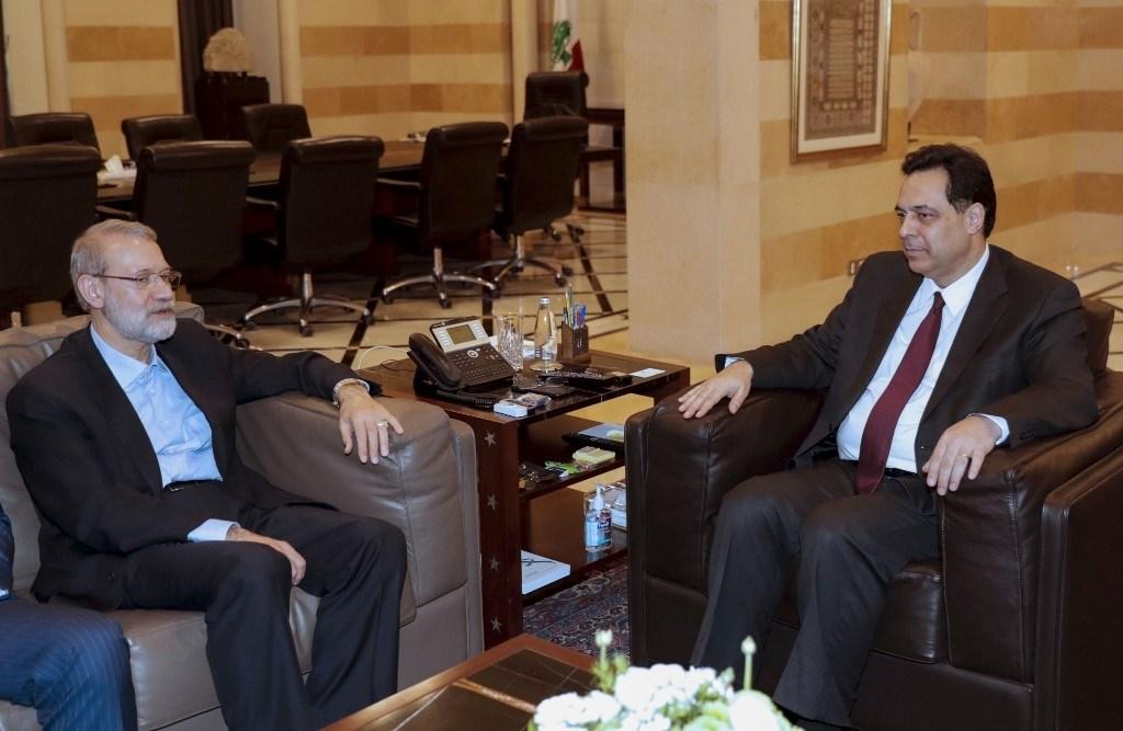 لاريجاني: إيران مستعدة لمساعدة لبنان