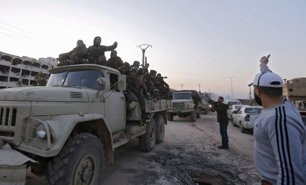 الجيش السوري يصدّ هجوماً للمسلحين في ريف حلب الغربي