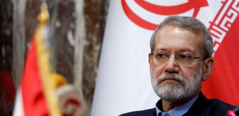 """لاريجاني يبحث مع وفد من حماس كيفية مواجهة """"صفقة القرن"""""""