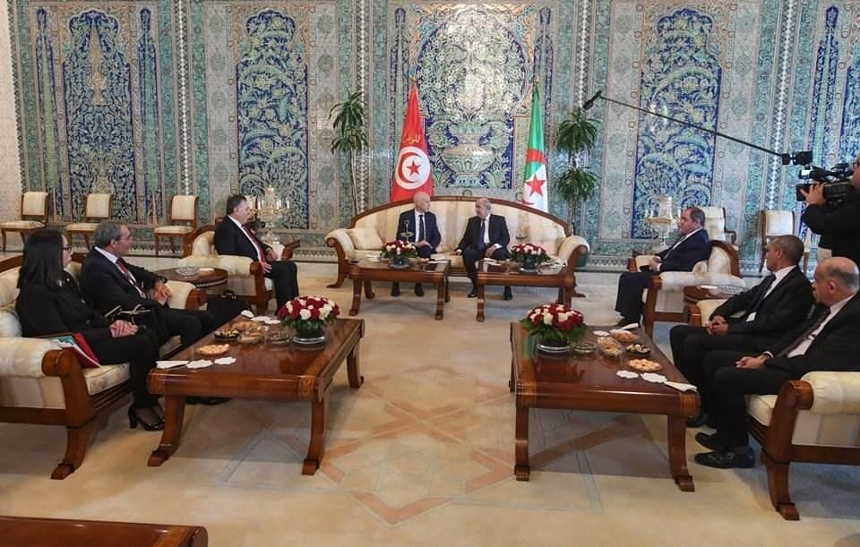 """تطابق في وجهات النظر التونسية الجزائرية : رفض """"صفقة القرن"""""""