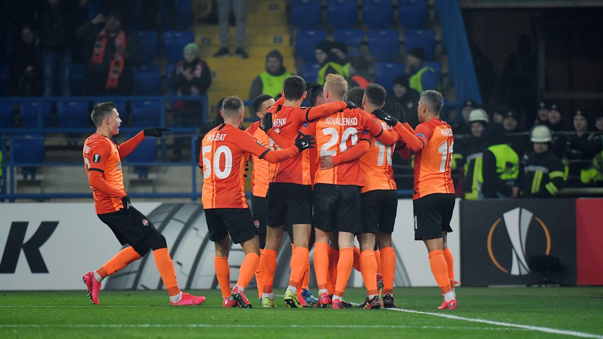 الدوري الأوروبي: شاختار دونيتسك يلحق الهزيمة ببنفيكا