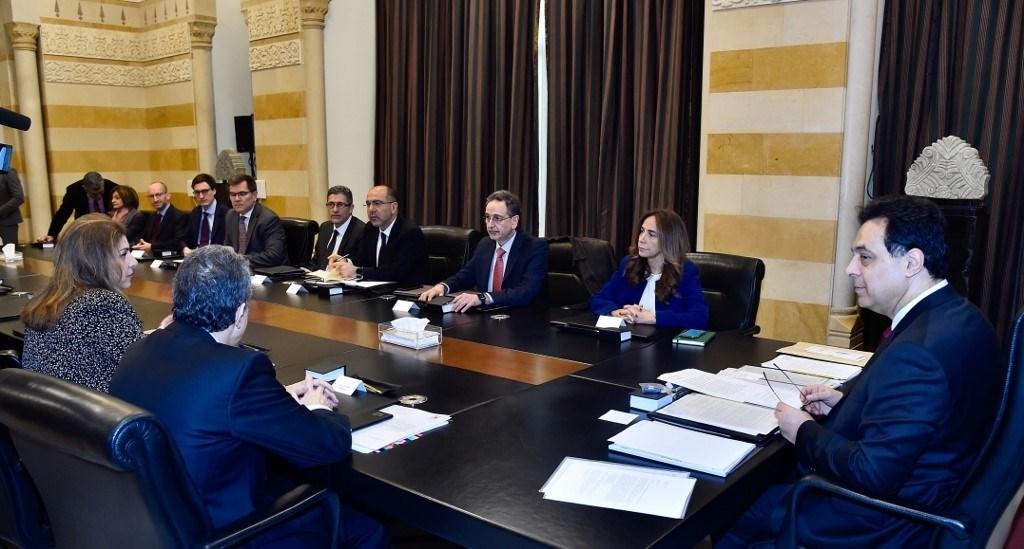 وفد من صندوق النقد الدولي في لبنان لبحث تقديم مساعدة تقنية