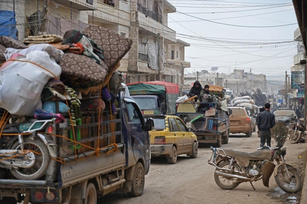 روسيا تدعو تركيا إلى تأمين خروج المدنيين من إدلب السورية