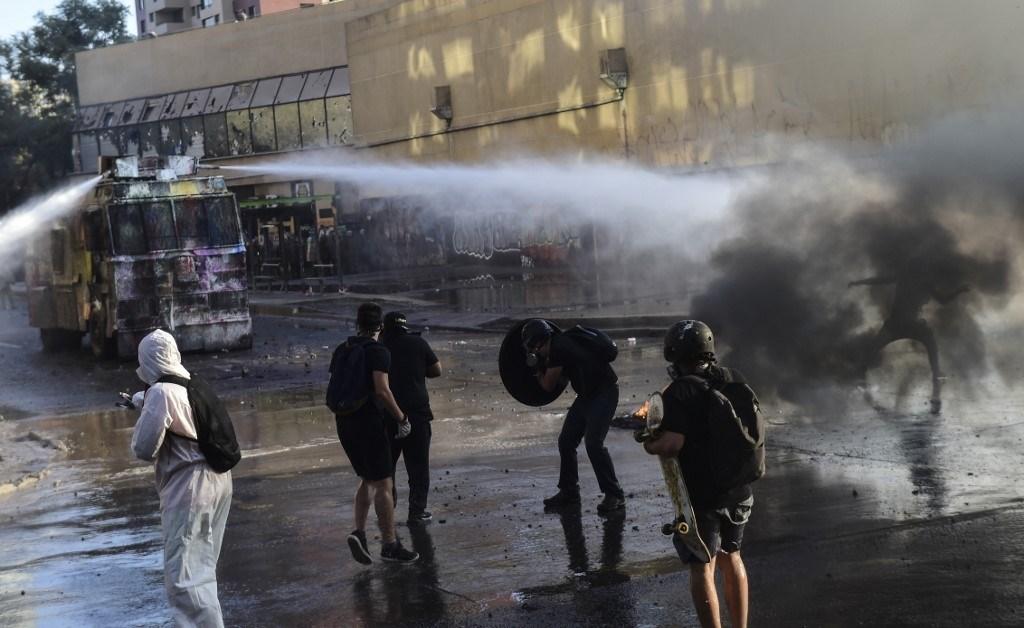 تظاهرات جديدة في العاصمة التشيلية للمطالبة بإصلاحات في البلاد