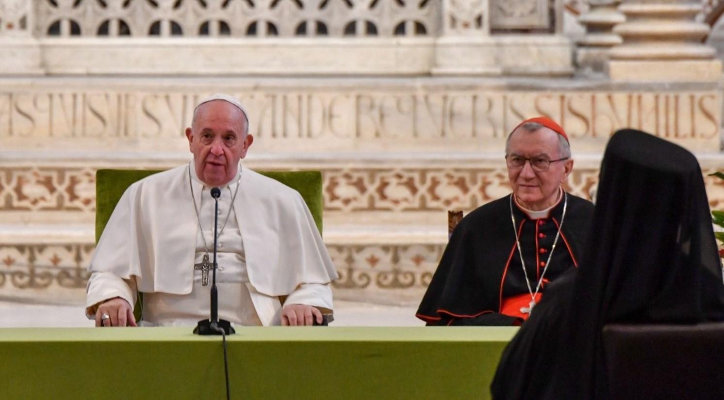 """البابا فرنسيس يعلّق على """"صفقة القرن"""": الحلول الجائرة مقدّمة لأزمات جديدة"""