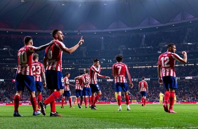 أتلتيكو مدريد ثالثاً وإشبيلية رابعاً