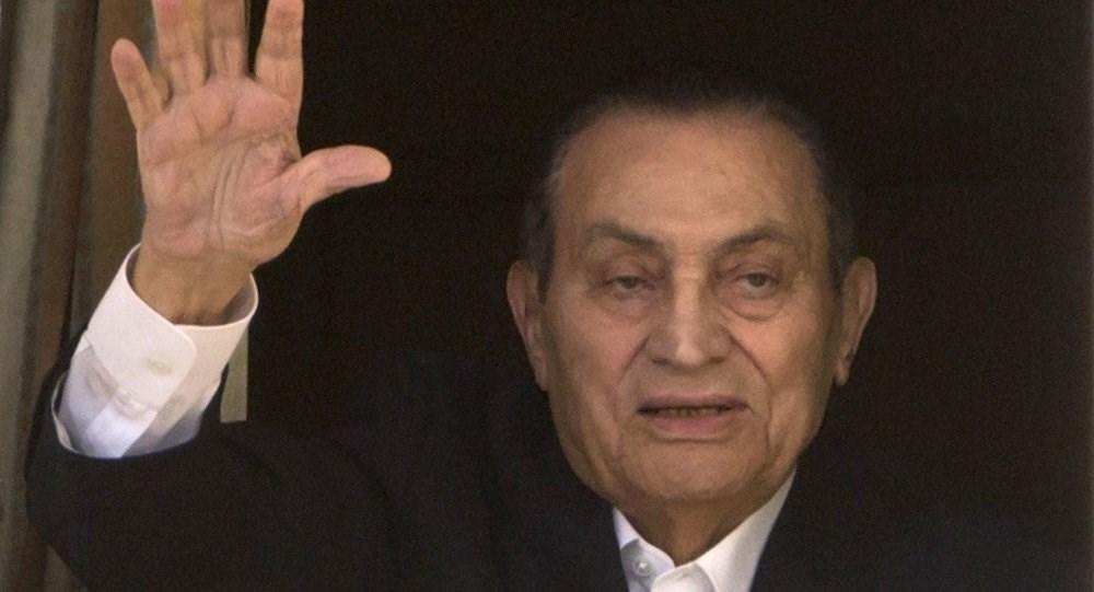 الرئاسة المصرية تنعي حسني مبارك وتعزي أسرته