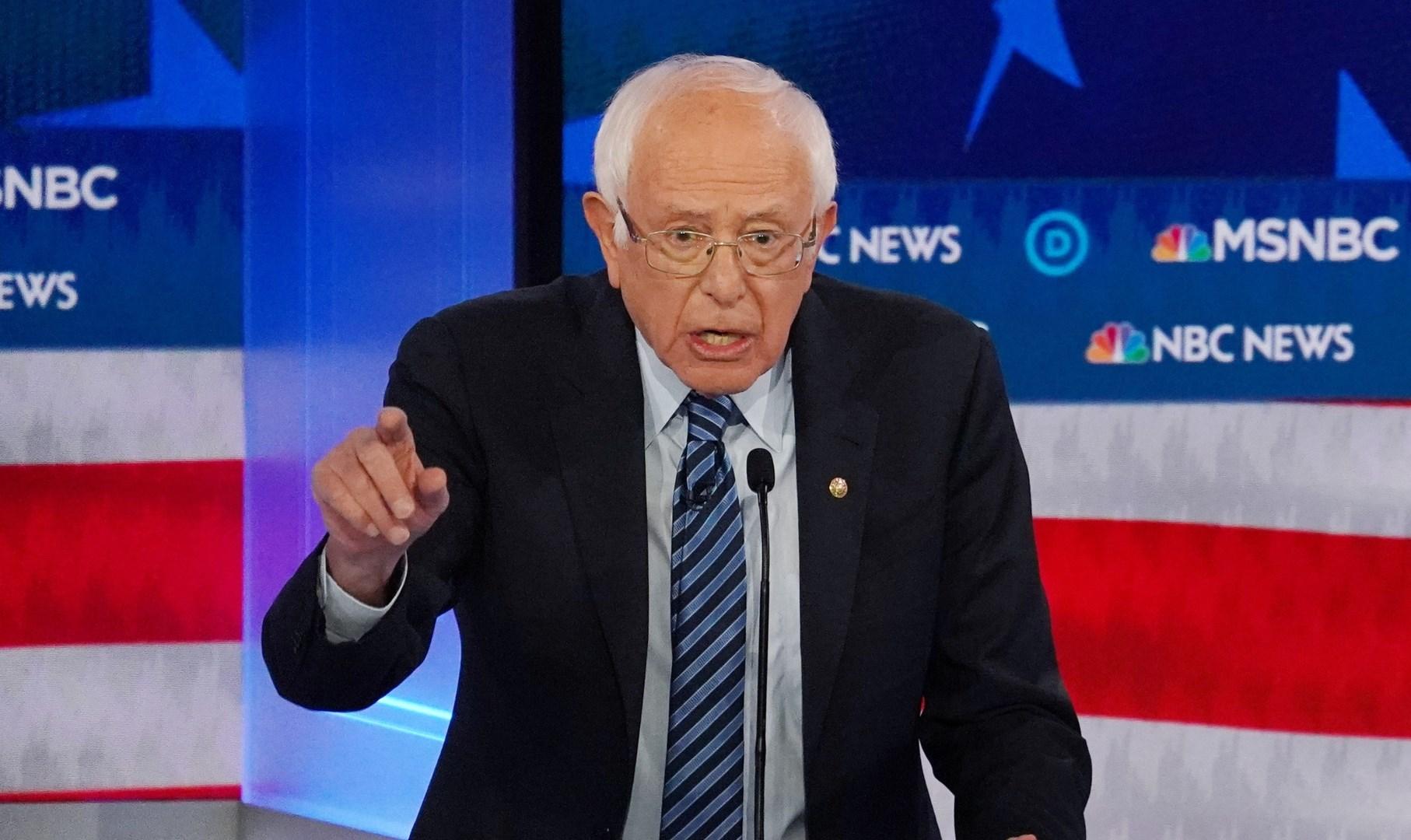 ساندرز يعتزم مراجعة قرار نقل السفارة الأميركية إلى القدس إذا انتخب رئيساً