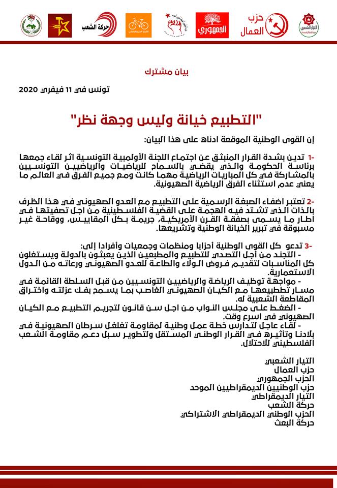 """عبر أبواب كثيرة.. هكذا تسعى """"إسرائيل"""" للتطبيع مع تونس!"""
