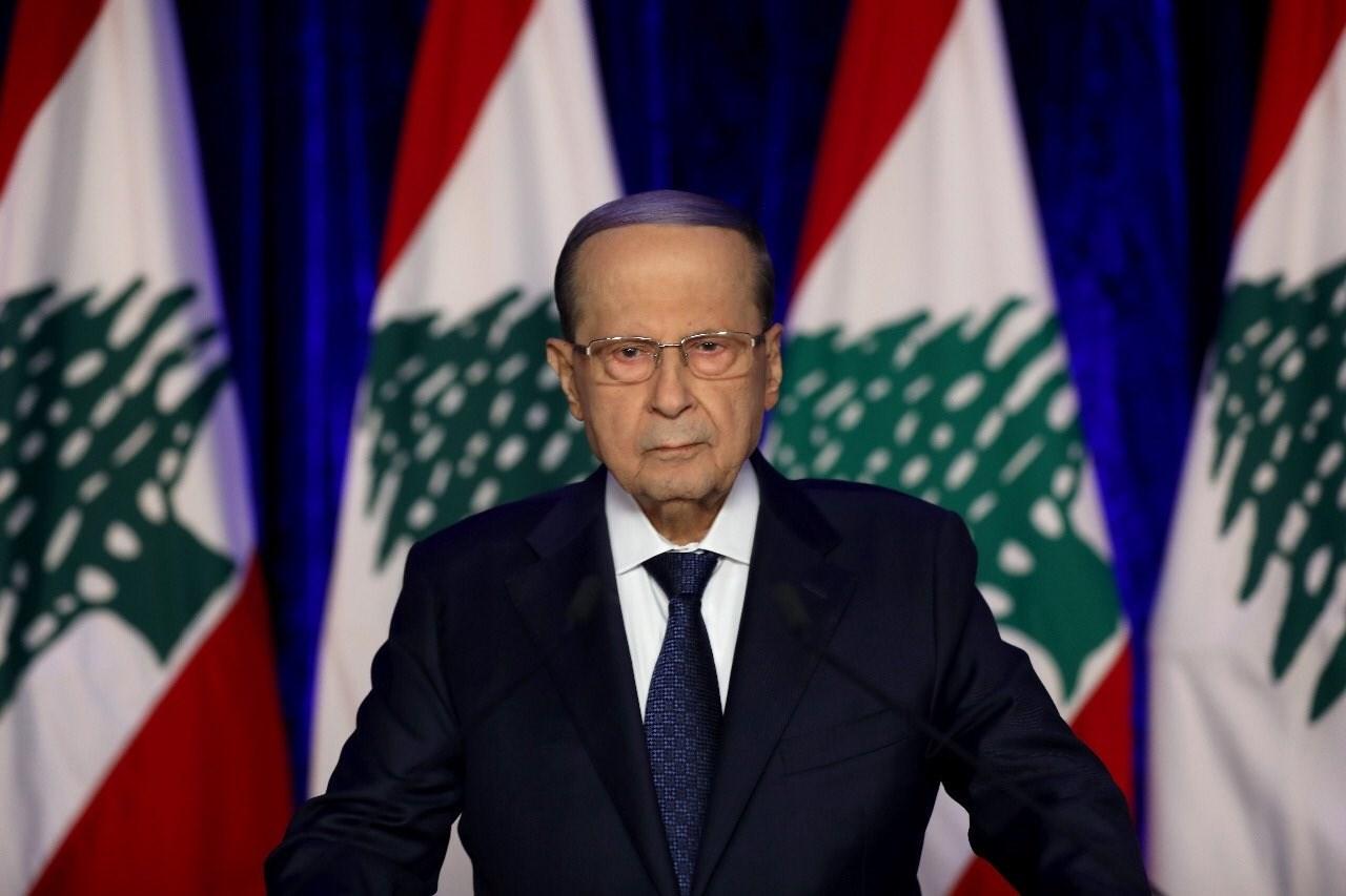 عون: ساعات قليلة ويبدأ التنقيب عن النفط في لبنان