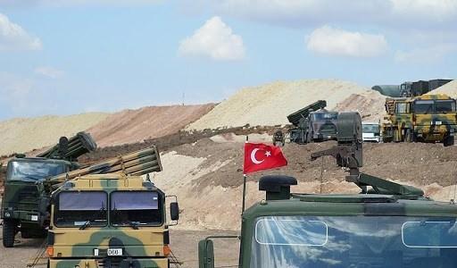 مراسل الميادين: غارة تركية على منطقة الزربة بريف حلب تستهدف مواقع للجيش السوري