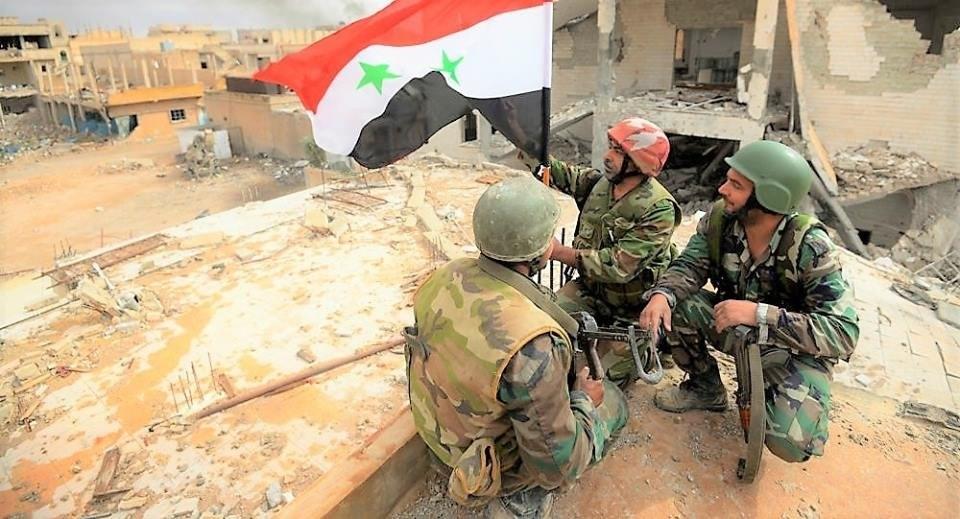 الجيش السوري يقطع خطوط إمداد المسلّحين بين مدينتي سراقب وأريحا في ريف إدلب