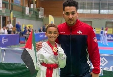 الميدالية الذهبية لفلسطين