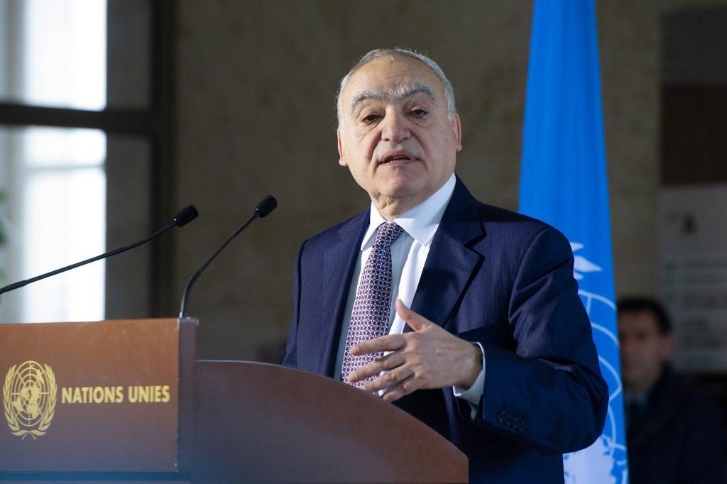 غسان سلامة: هناك إرادة حقيقية لبدء التفاوض بين الطرفين المتناحرين في ليبيا