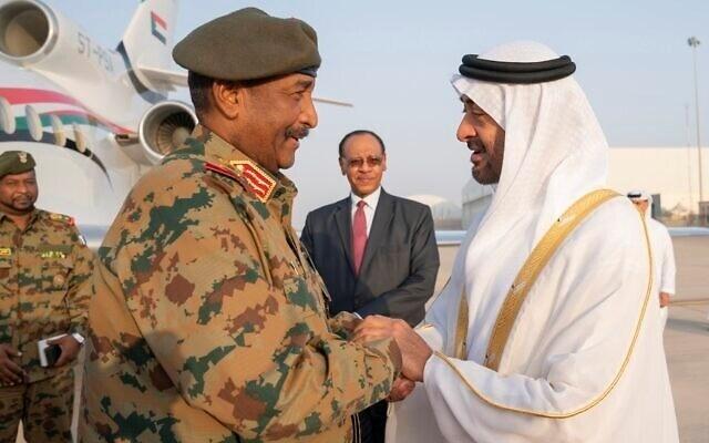 مسؤول عسكري سوداني بارز: الإمارات نظمت لقاء نتنياهو والبرهان