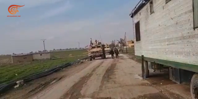 مصدر عسكري للميادين نت: الجيش السوري يمنع رتلاً أميركياً من العبور في ريف تل تمر