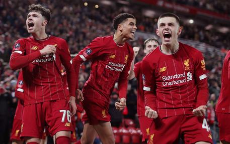 ليفربول بالفريق الرديف يتأهّل إلى الدور الخامس في كأس إنكلترا