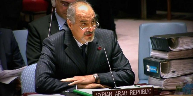 الجعفري:  قصف حلب من قبل الإرهابيين لم يدفع مجلس الأمن للانعقاد كما يفعل في إدلب