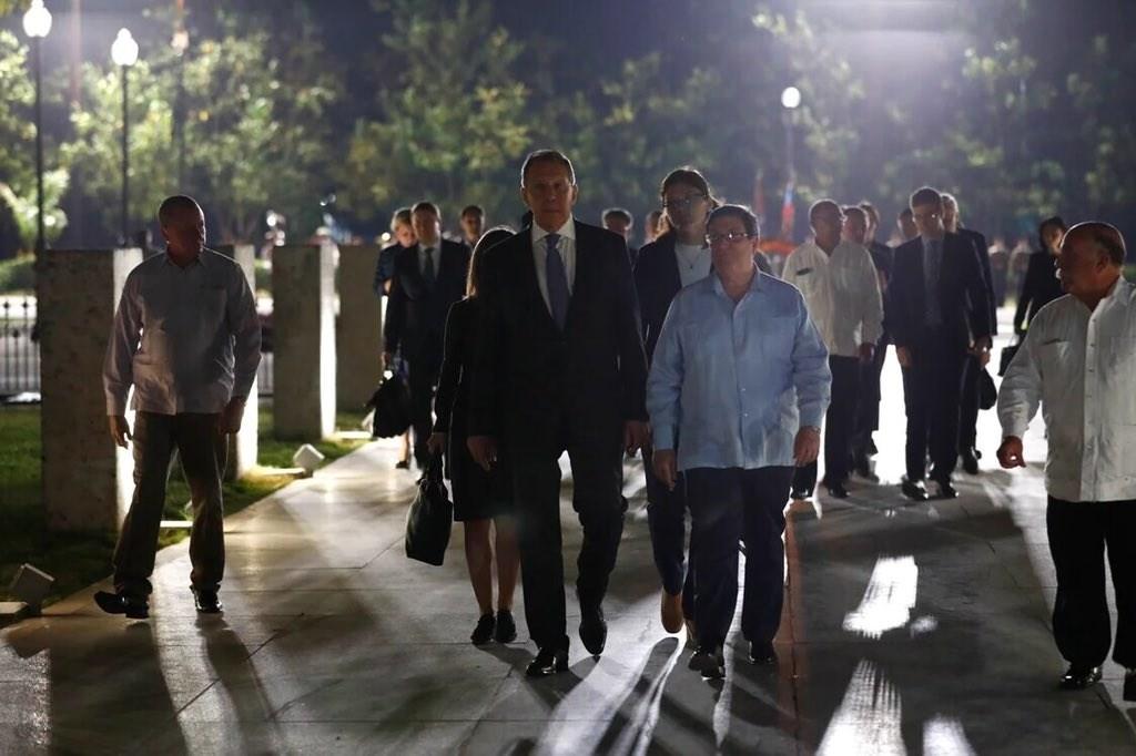 لافروف: كوبا وروسيا تناقشان التعاون تحت ظروف العقوبات الأميركية