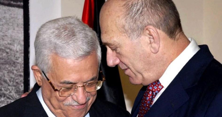 """""""القناة 2"""" الإسرائيلية: أولمرت سيعقد مؤتمراً صحافياً مع عباس في نيويورك حول """"صفقة القرن"""""""