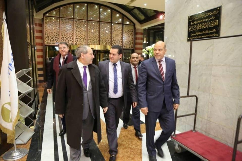 توقيع مذكرة لاستئناف العلاقات الدبلوماسية بين دمشق وحكومة بنغازي