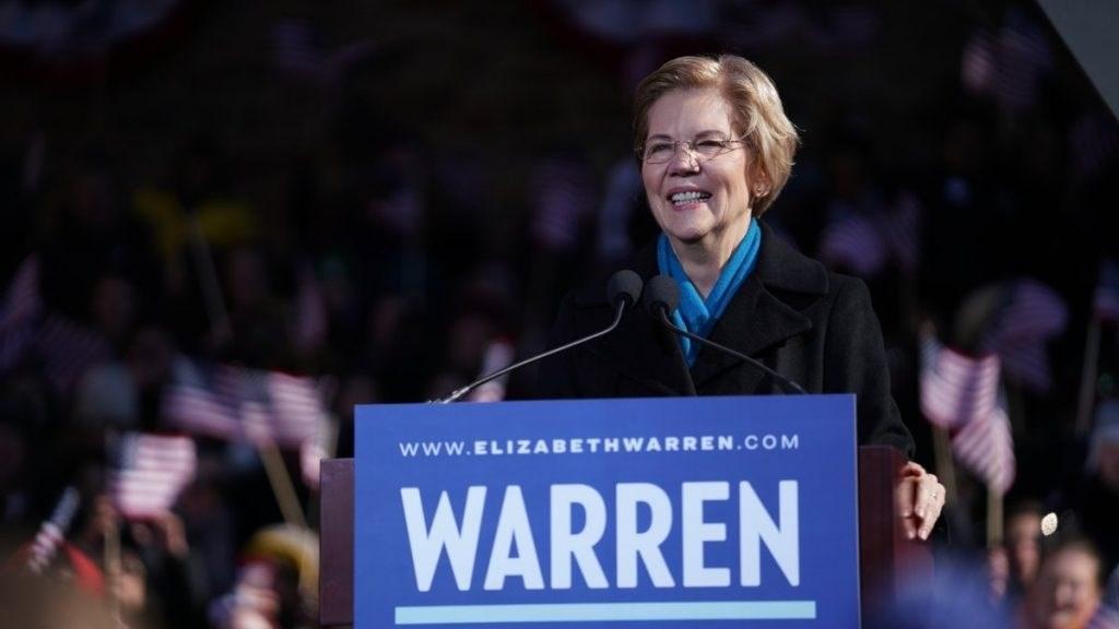 استطلاع: انسحاب المرشحة الأميركية إليزابيث وارن يصبّ في مصلحة جو بايدن