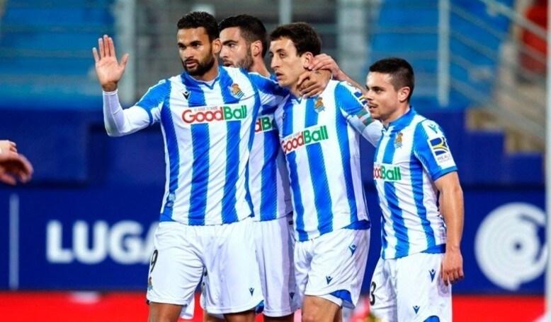 ريال سوسيداد يتقدّم إلى المركز الرابع