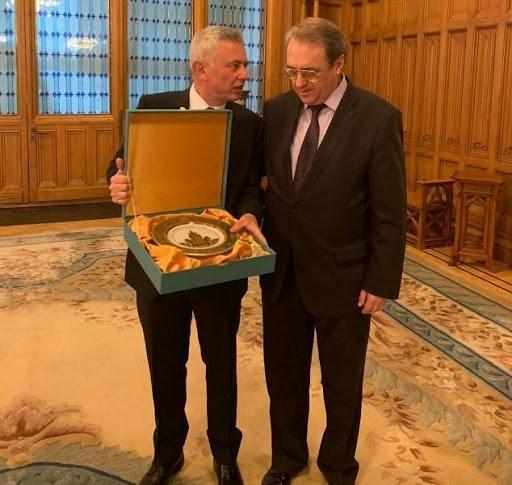 لافروف يؤكد لفرنجية دعم روسيا الثابت لسيادة لبنان ووحدة أراضيه