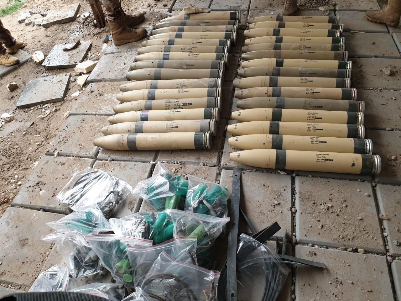 العمليات المشتركة العراقية تكشف الحصيلة الأولية لقصف معسكر التاجي