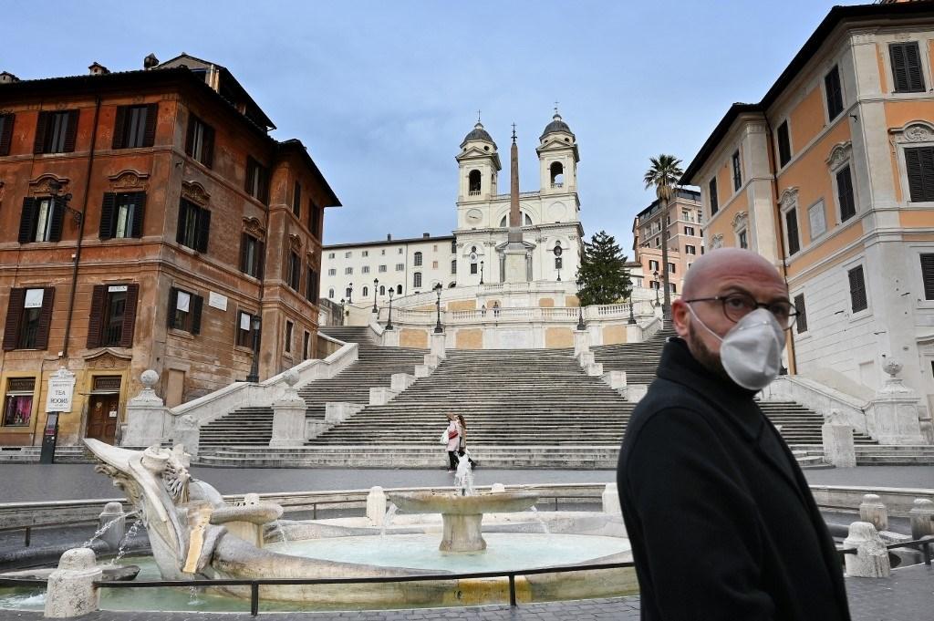 اتساع رقعة كورونا في أوروبا وترامب غير مصاب بالفيروس