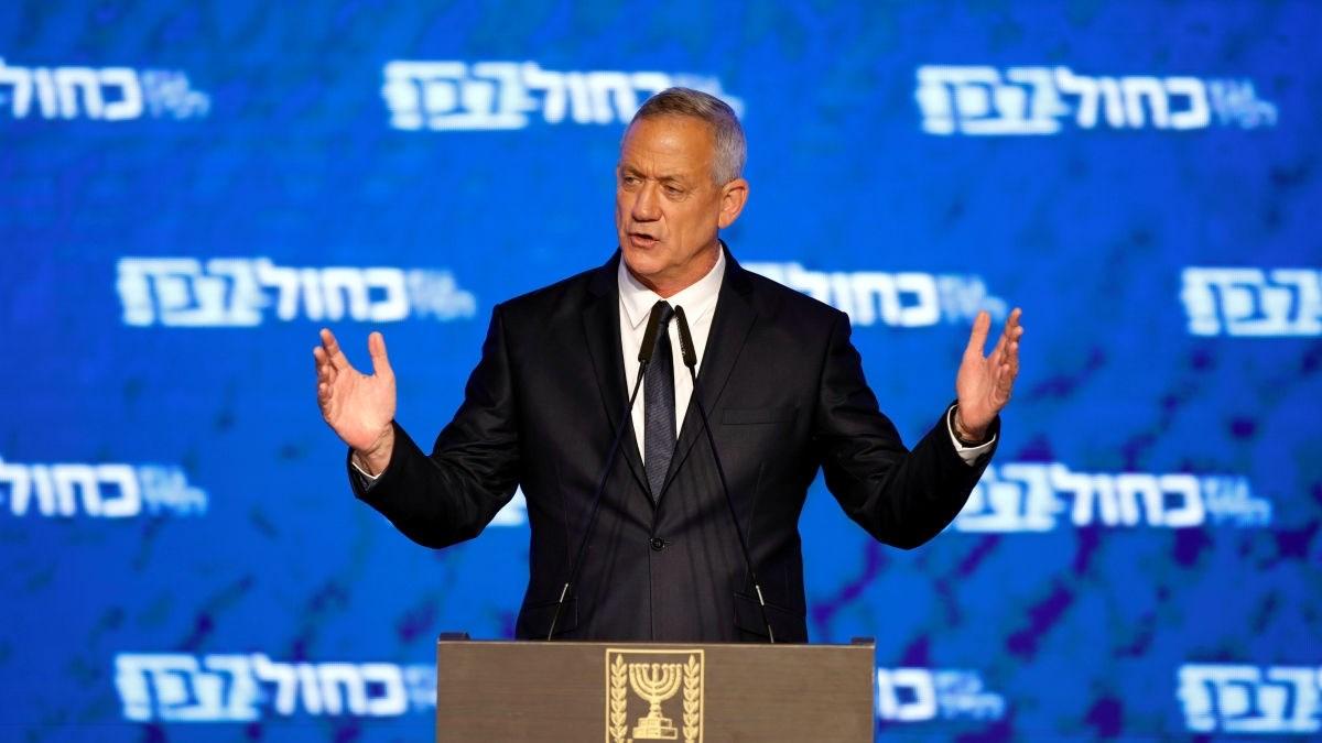 وسائل إعلام إسرائيلية: 61 عضواً في الكنيست أوصوا بتكليف بني غانتس تأليف الحكومة
