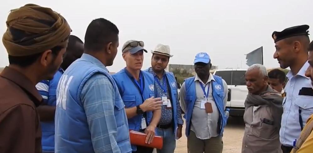 فرق الأمم المتحدة تواصل أعمالها للتحقق من إعادة الانتشار بموانئ الحُديدة اليمنية