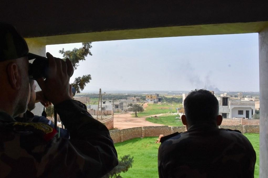 الدفاع الروسية تختصر مسار الدوريات الروسية التركية المشتركة في إدلب