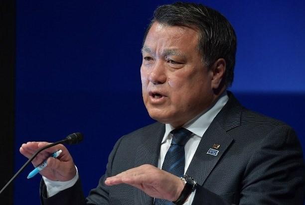 """رئيس اتحاد الكرة الياباني جديد المصابين بـ """"كورونا"""""""