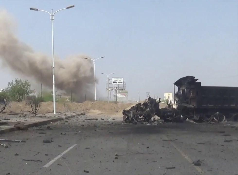 مصدر عسكري يمني: قوات التحالف السعودي تنفذ  166 خرقاً لاتفاق السويد