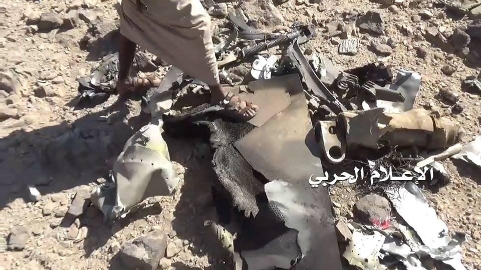 القوات المسلحة اليمنية تتصدى لتشكيل قتالي للتحالف السعودي من طائرات F15