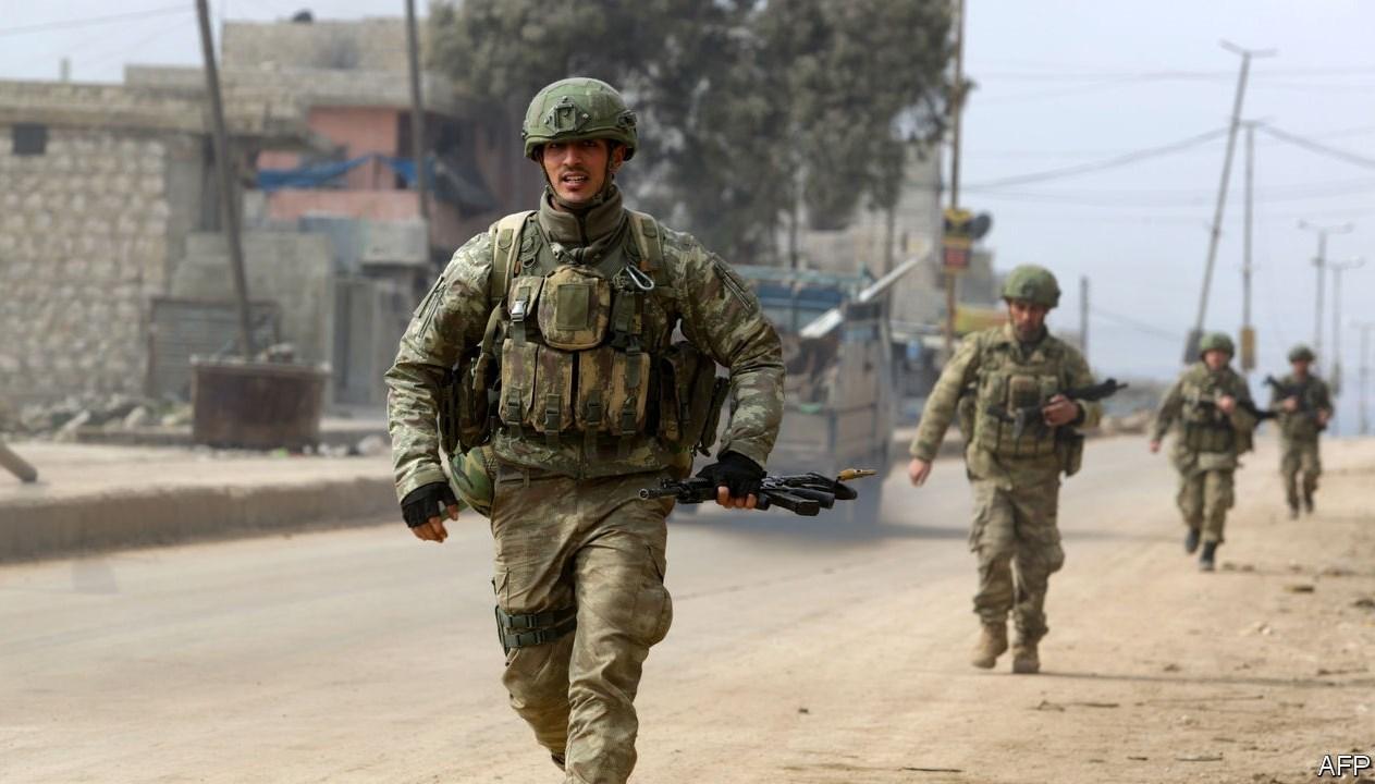 مقتل جنديين تركيين وإصابة آخر في هجوم  بإدلب