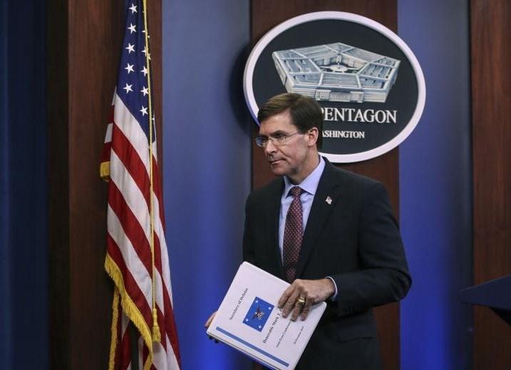 """إسبر: الاتفاق مع """"طالبان"""" هدفه إعادة التركيز على الصين"""